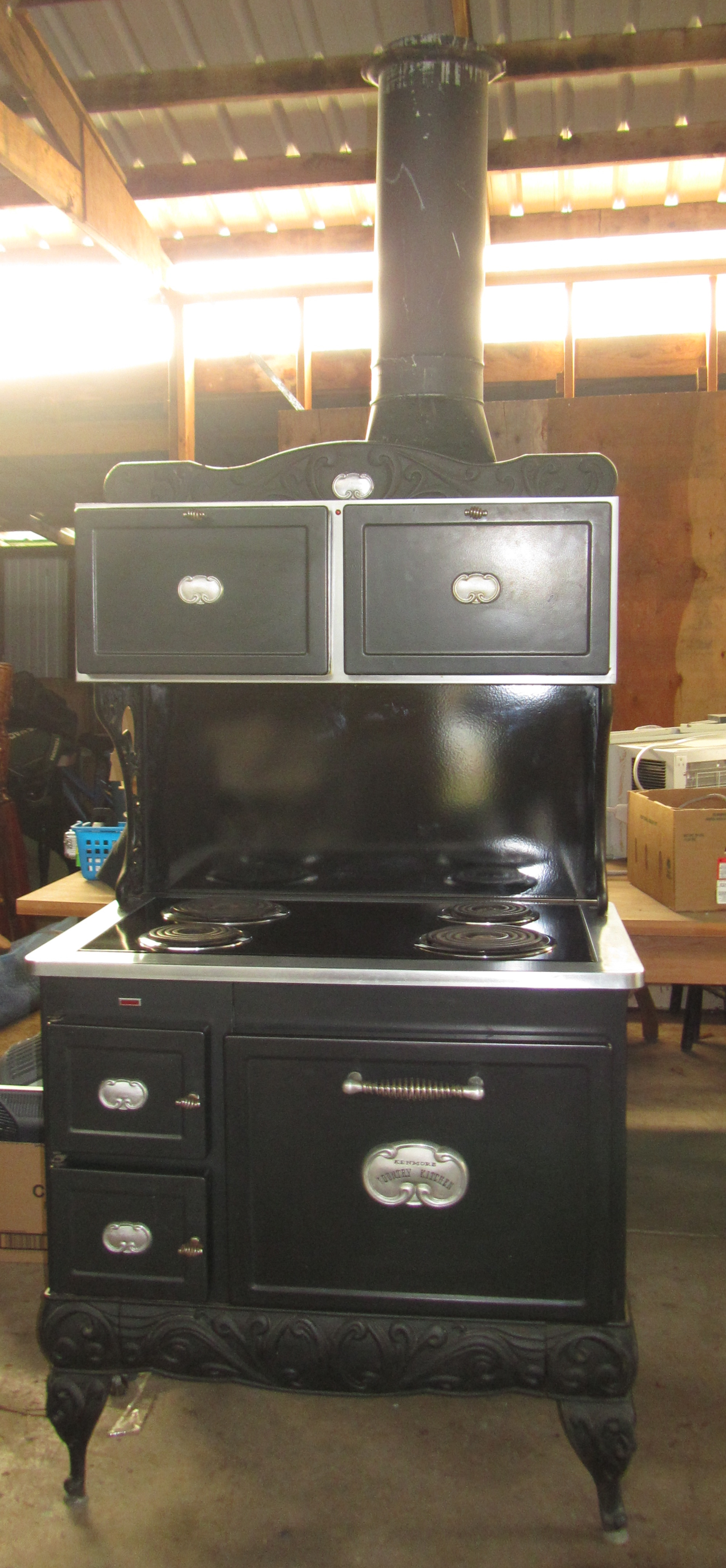 Sears Country Kitchen Electric Range